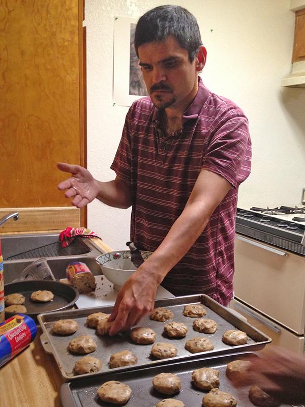 Adrian Baking Cookies