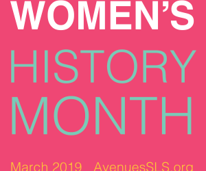 Women's History Month – March 2019