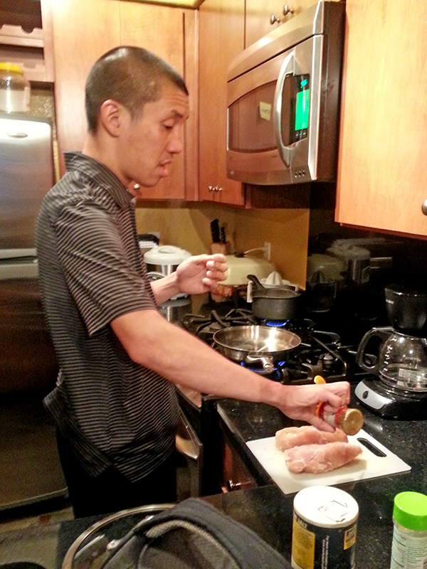 Chris Prep Meal