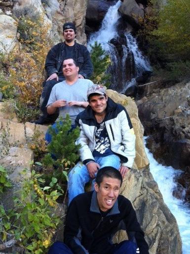 TB DK AL CL Waterfall